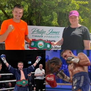 Philip Jones Timber Products branch out to sponsor Welsh boxing champion Kieran Gething