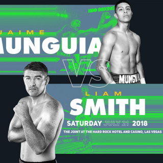 Liam Smith v Jaime Munguia